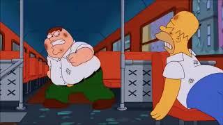 Family Guy vs The Simpsons AMV