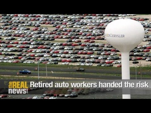 Retired auto workers handed the risk
