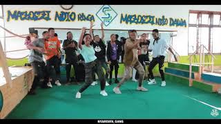 DJ Obza - Mang'Dakiwe ft Leon Lee   Dance Challenge