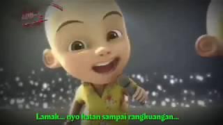 """""""Lamak Katan Sampai Rangkuangan"""" Lagu Minang Versi Upin Ipin."""