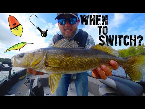 When To Switch Lure - Walleye Fishing