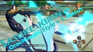 NUNS FB : Hebi Sasuke / Cursed Seal Sasuke Moveset Mod