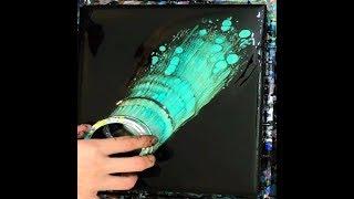 Fluid Art ACRYLIC PAINT POURING with Menam_Art