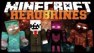 Minecraft Mod Showcase: More Herobrine 1.7.2