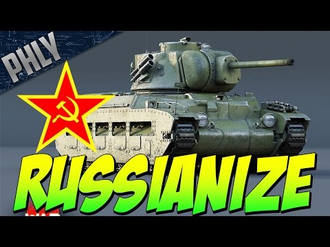 QUEEN OF THE CITY - Russianized Matilda Mk 2 (War Thunder Gameplay)