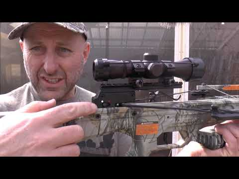 PSE Coalition Crossbow - Unboxing And Shooting