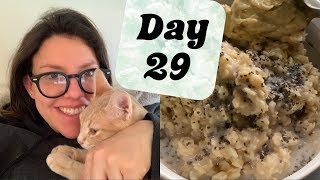 DAY 29 Mostly Raw Vegan Food Challenge / PREGNANT