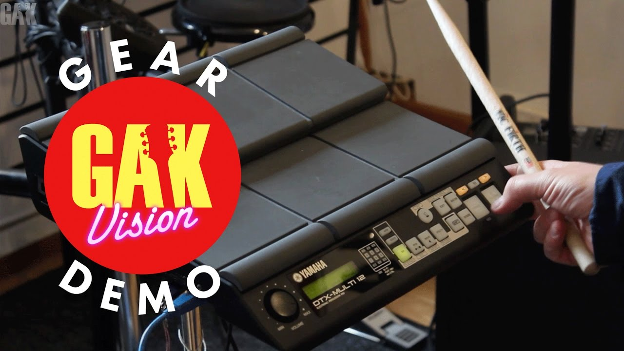 Download GAK DEMO : Yamaha DTX M12 Multi Pad