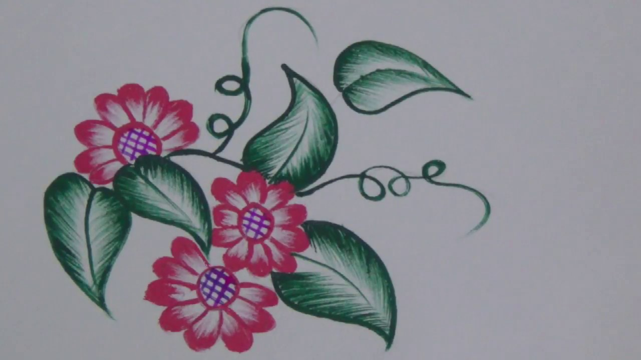 Painting Fabric Painting For Beginners Fabric Painting Flower