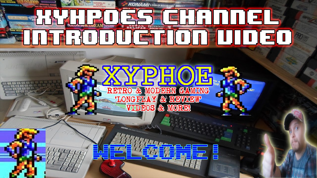 Xyphoe is creating Longplays, Reviews, Live Streams and Special
