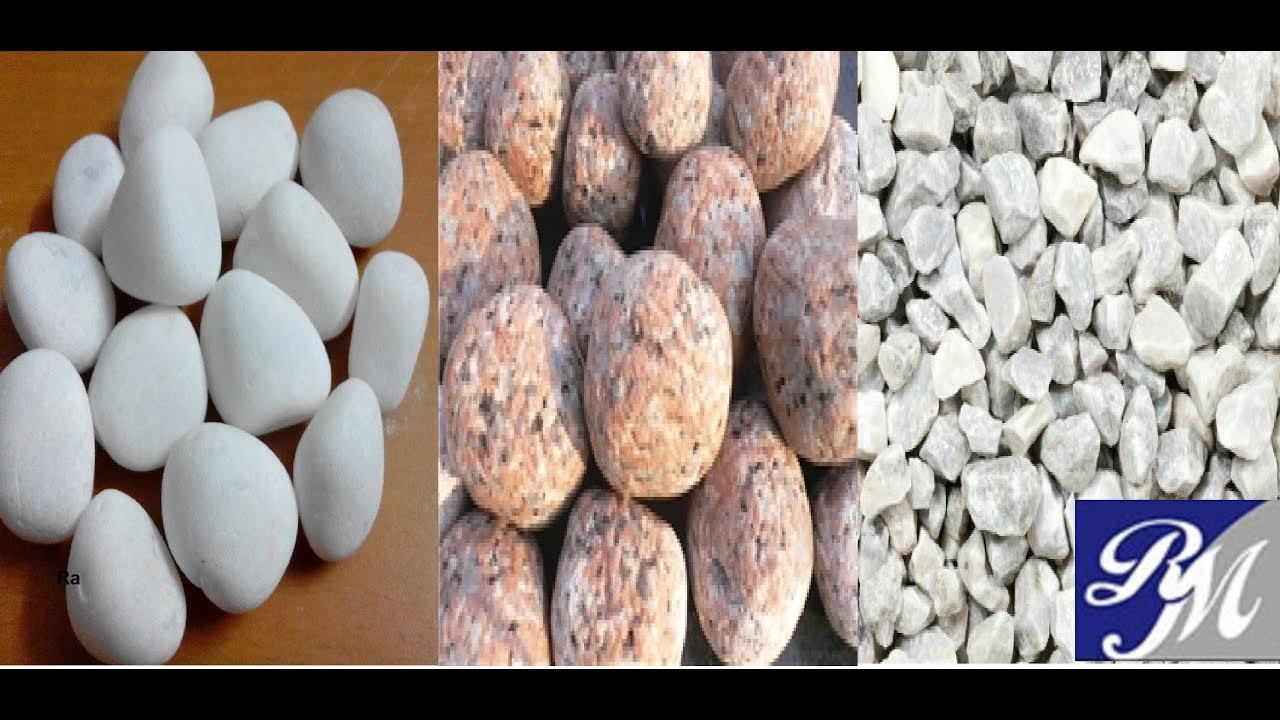 Rm Marble Stone Granite Pebbles For Home Interior Gardening