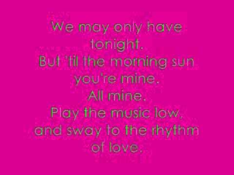 Rhythm of Love - The Plain White T's [lyrics]