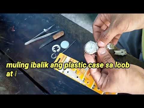 Paano magpalit ng battery sa relo