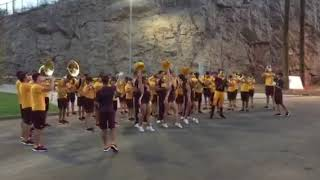 ASU Marching Band Performs Fight Song
