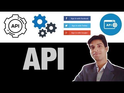 API- Application Programming Interface...