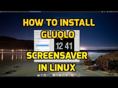 Debian Screensaver