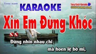 Xin Em Đừng Khóc Lễ Vu Quy Karaoke 123 HD - Nhạc Sống Tùng Bách