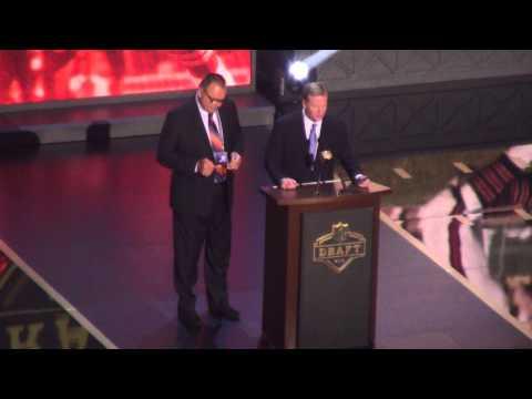 Dick Butkus Announces Chicago Bears NFL Draft Pick Eddie Goldman