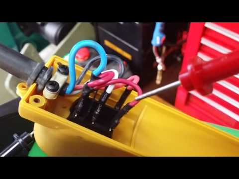 Harbor Freight #60347 & 44006 -120 volt electric winch wiring