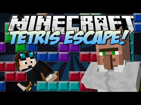 Minecraft | TETRIS ESCAPE! (The Classic Game, But DEADLY!!) | [1.7.2]