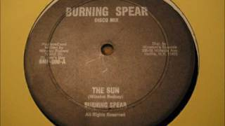 Burning Spear - The Sun 12""
