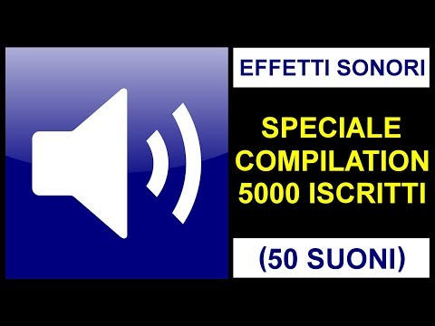 video audio comico effetto sonori