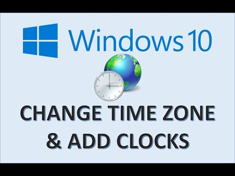 windows-10---change-time-zone---how-to-set-date-and-zones-in-setting---add-desktop-clock-on-computer