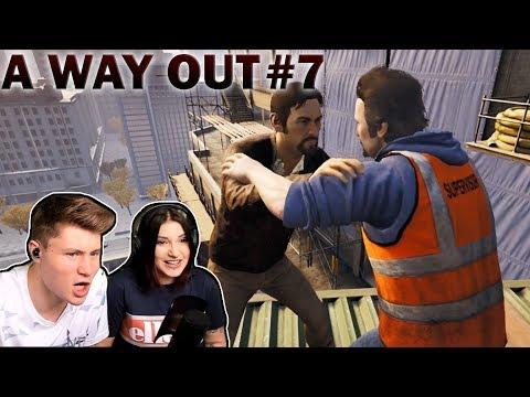 ES WIRD ERNST! Harvey auf der Spur | A Way Out #7 | Kati & Dner