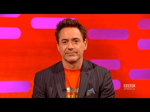 Robert Downey Jr. Baby Name Ideas from Stephen Fry - The Graham Norton Show on BBC America
