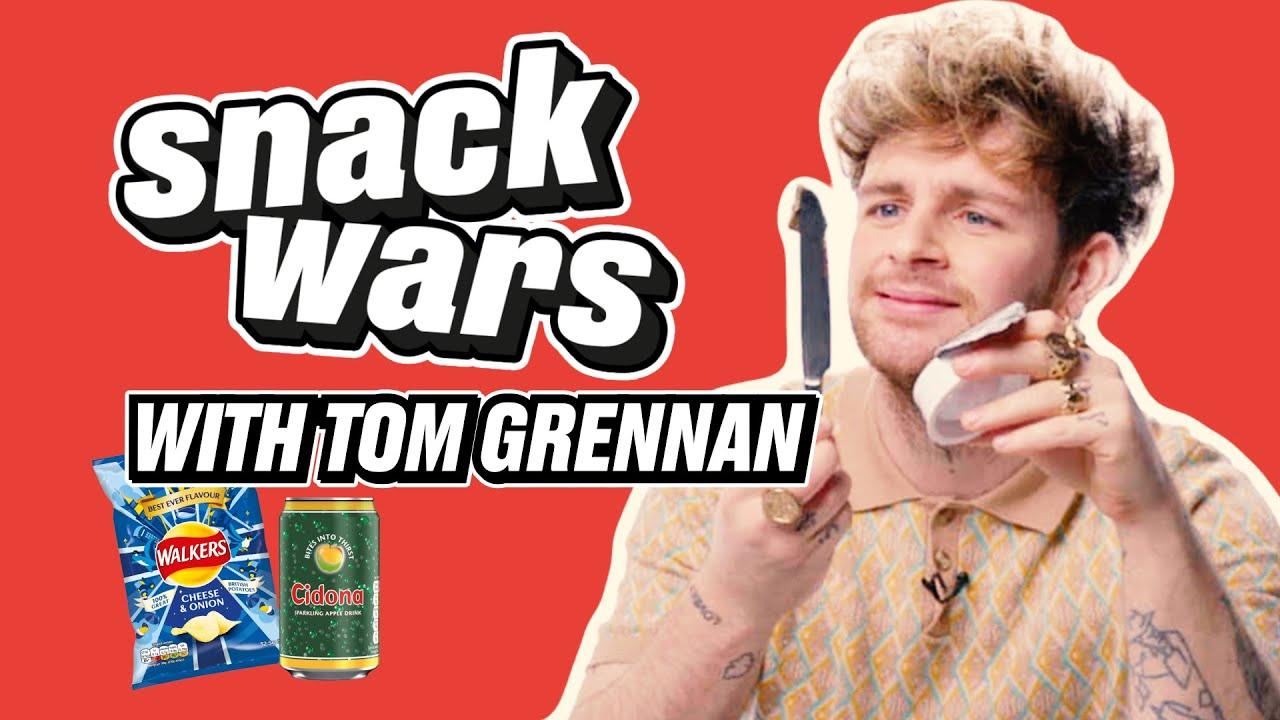Tom Grennan REALLY LOVES Irish Snacks | Snack Wars | @LADbible TV
