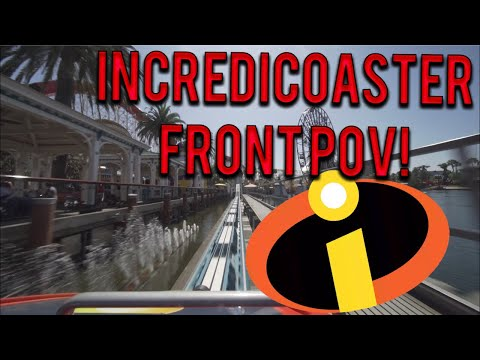 Incredicoaster Now Open, New POV Shows Changes