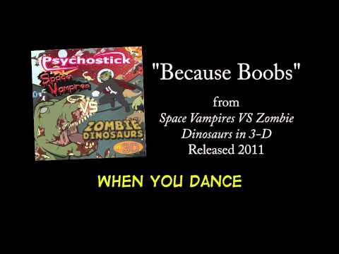 Because Boobs + LYRICS [Official] by PSYCHOSTICK