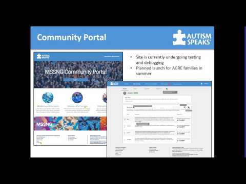 May 2017 AARC Webinar - Genetics and the Autism Speaks MSSNG Project