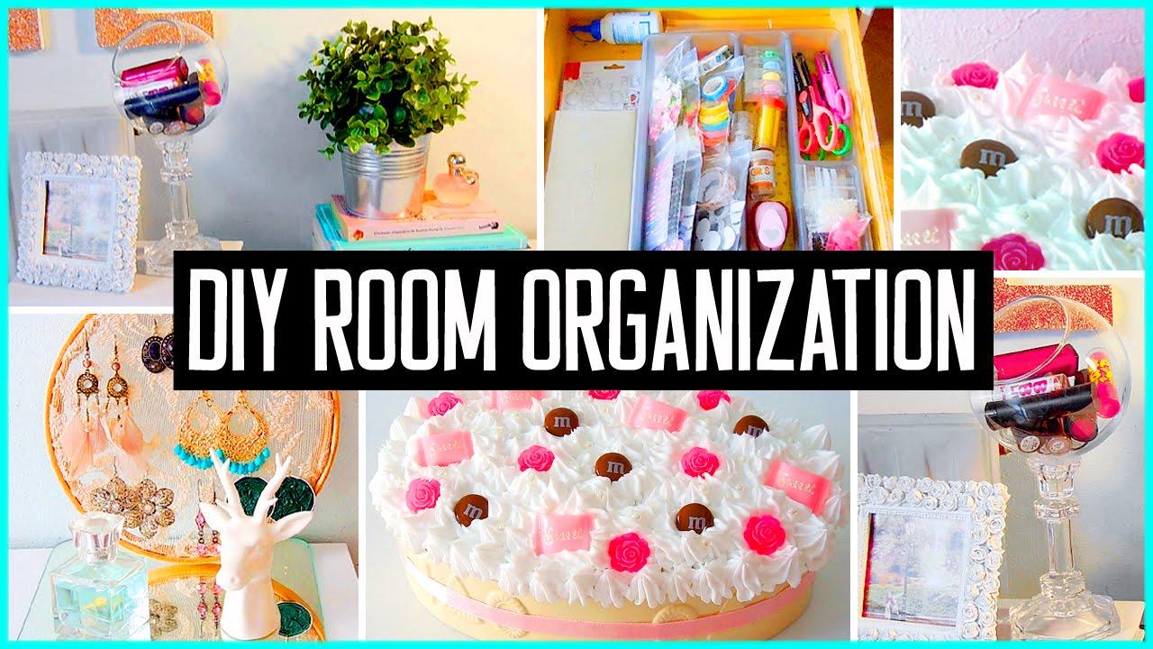 DIY Room Organization & Storage Ideas! Room Decor! Clean