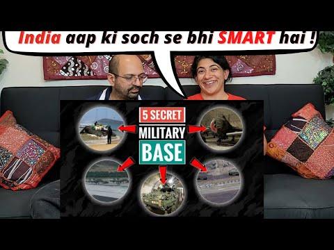 Indian Military Base - Top 5 Secret Military & Air Bases Of India   Secret Military Base   Reaction
