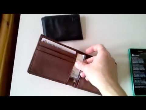 Contactless RFID Credit Card Protector Protection Demo part2