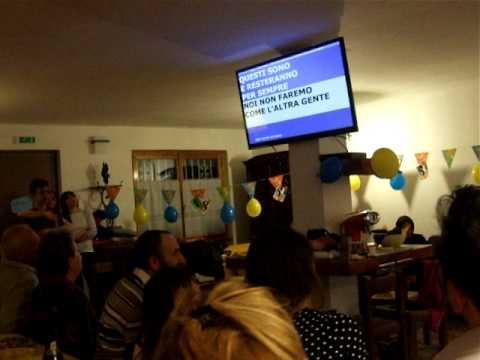 karaoke festa di compleanno alex e claudia animazione milano lombardia varese.avi