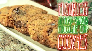 Flourless Almond-ginger Chocolate Chip Cookies | Rule Of Yum & Emmymadeinjapan