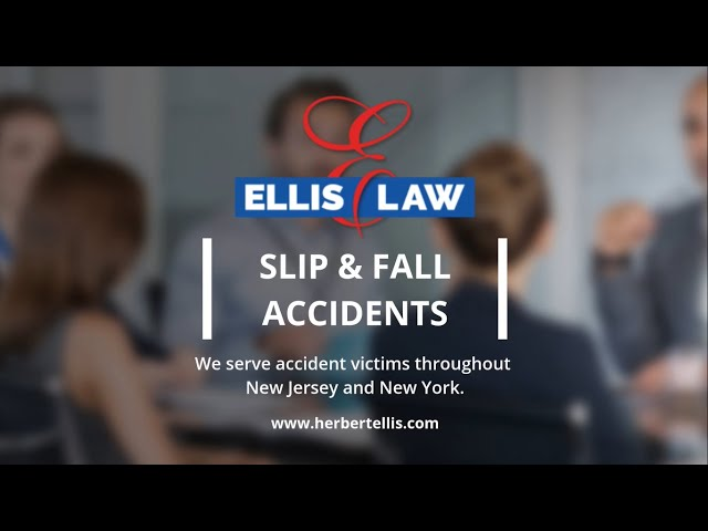 New Jersey Slip & Fall Lawyers