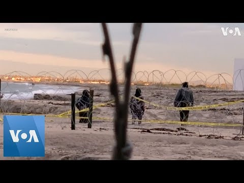 Woman, Two Kids Cross into U.S., Stopped by Border Patrol