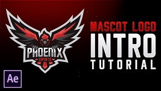 Mascot/Esports Logo Intro Tutorial - After Effects CC 2018