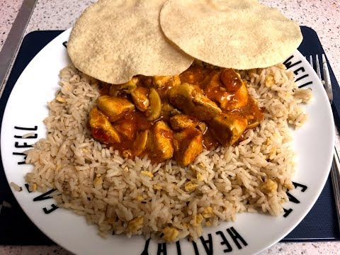 QUICK EASY CHICKEN CURRY SLIMMING WORLD