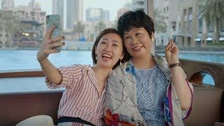 时尚博主黎贝卡和妈妈的迪拜之旅