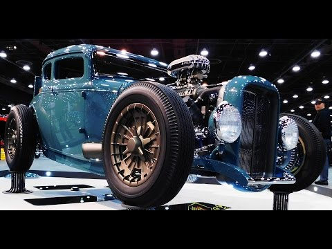 "1930 Ford Model A Coupe ""After Thought"" 2017 Great Eight Winner 2017 Detroit Autorama"