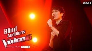 นีนี Ju Hua Tai Blind Auditions The Voice Thailand 6 12 Nov 2017