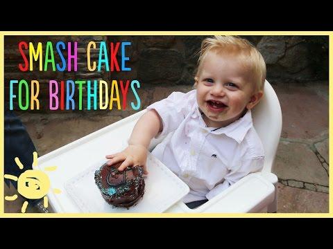 EAT   Smash Cake for 1st Birthday