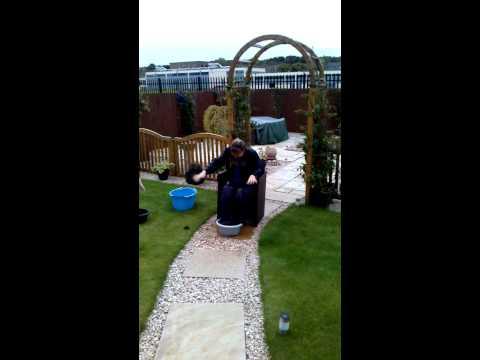 Shelley ice bucket challenge