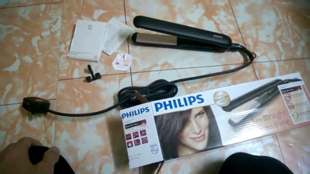 Philips straightener hp8319 unboxing review - YouTube 2b3fe419ed7