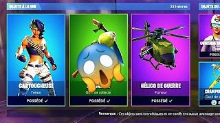 Fortnite Day Shop, March 10th! NEW CARTOUCHEUSE SKINS