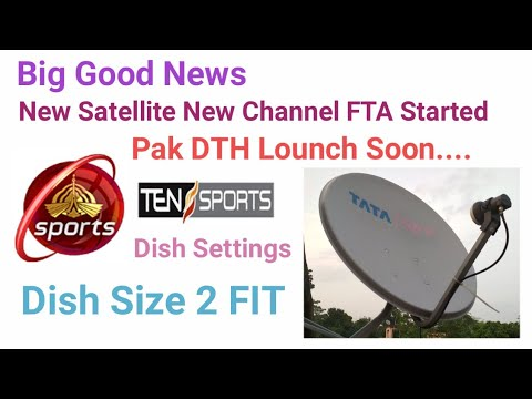 New Satellite Protostat1 98°E Ku watch Ten Sports, PTV Sports FTA Dish Settings Channel list 2018